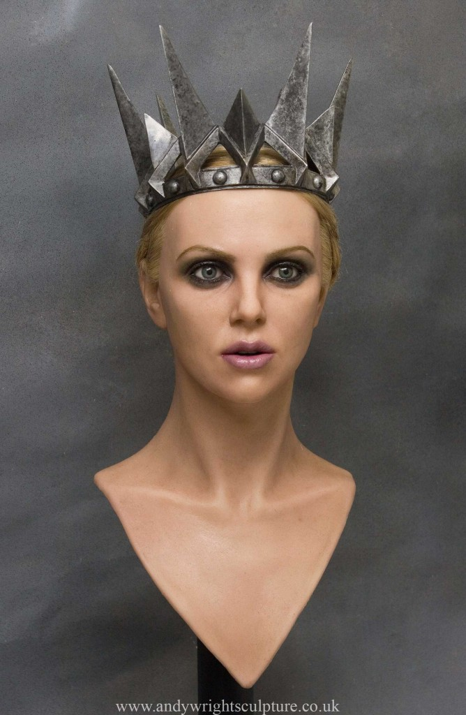 Snow White and the Huntsman  Charlize Theron 1:1 bust portrait