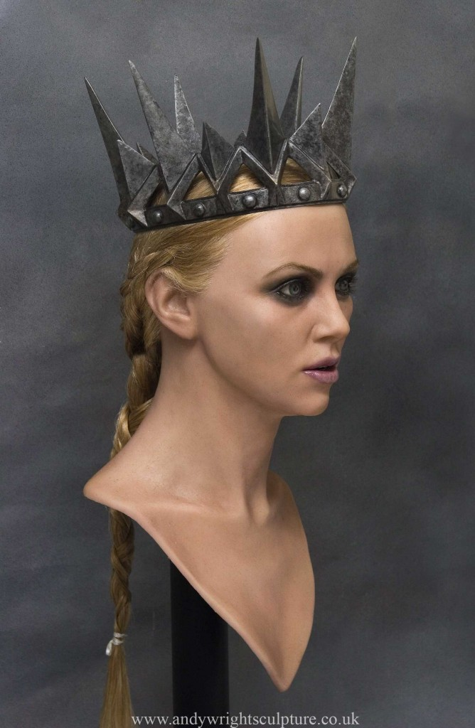 Charlize Theron - Snow White 1:1 life size portrait bust sculpture