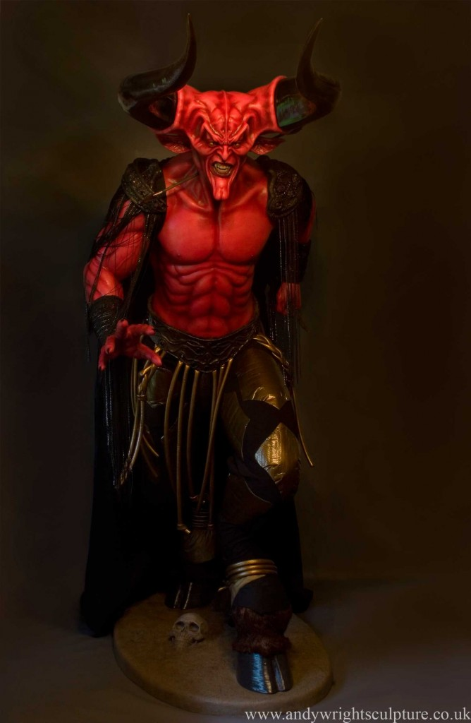 Darkness played by Tim Curry from Legend, 1:1 life size statue