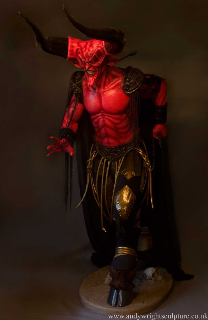 Lord ofDarkness life size statue collectible, Tim Curry in Legend