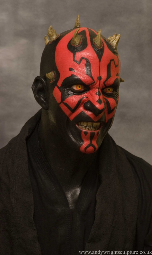 Darth Maul 1:1 life size replica prop silicone bust collectible statue