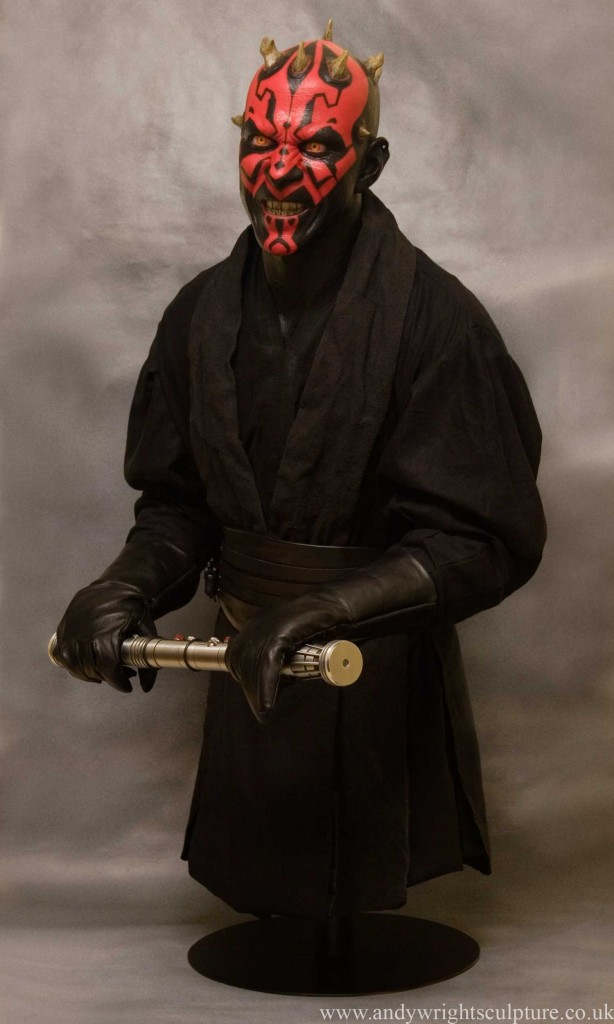 Darth Maul - Phantom Menace 1:1 life size realistic replica prop