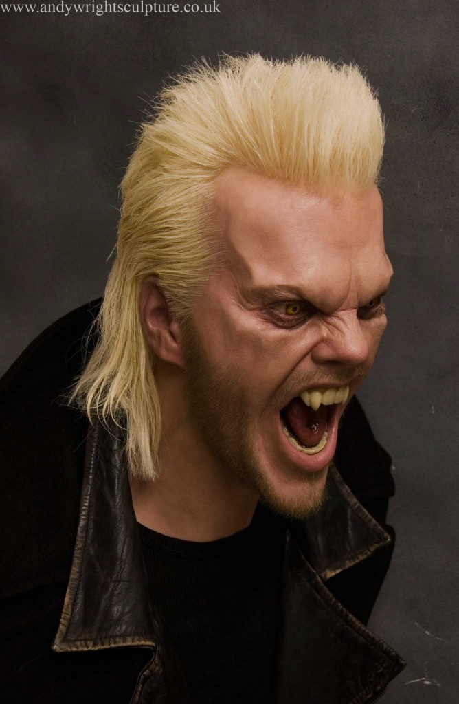 David - The Lost boys realistic 1:1 portrait bust collectible statue