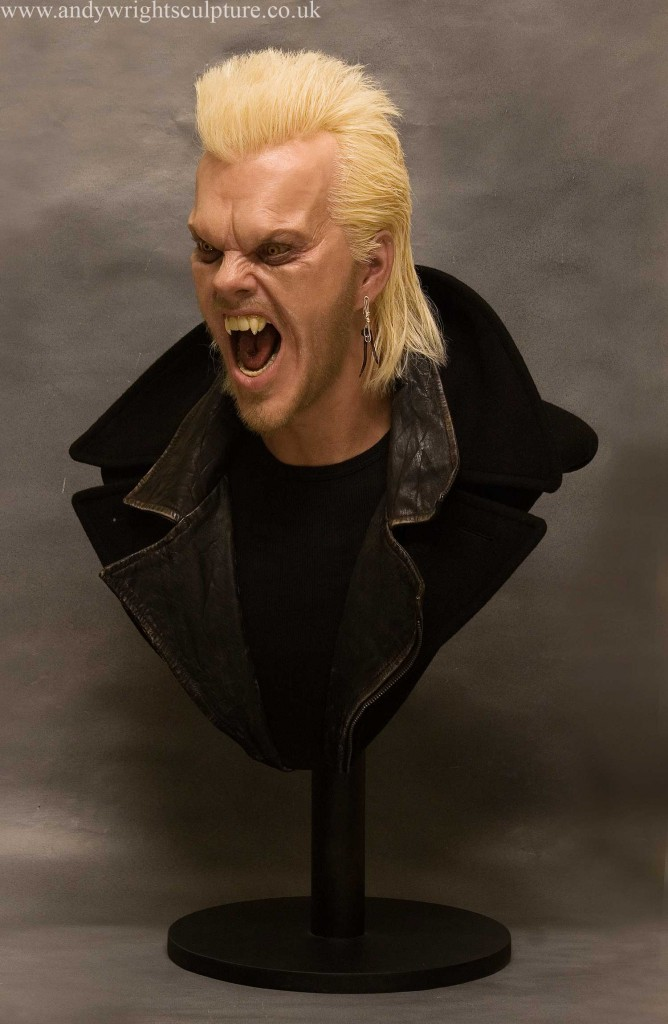 David from The Lost Boys 1:1 portrait bust display prop sculpture