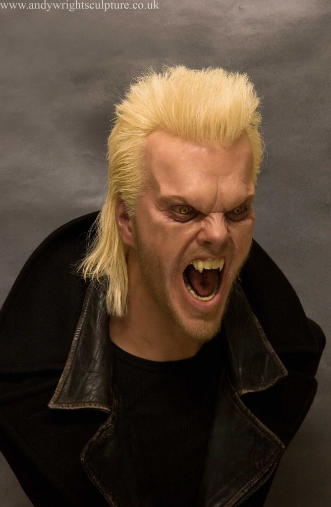 David from The Lost Boys, 1:1 life size silicone bust prop