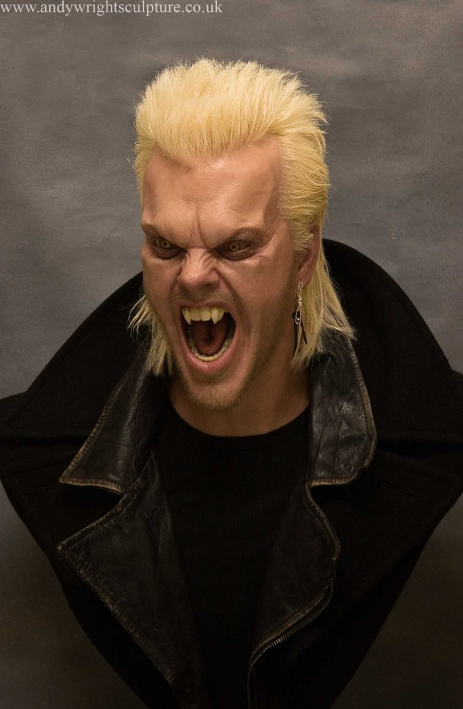 David from The Lost Boys, kiefer Sutherland 1:1 life size bust prop