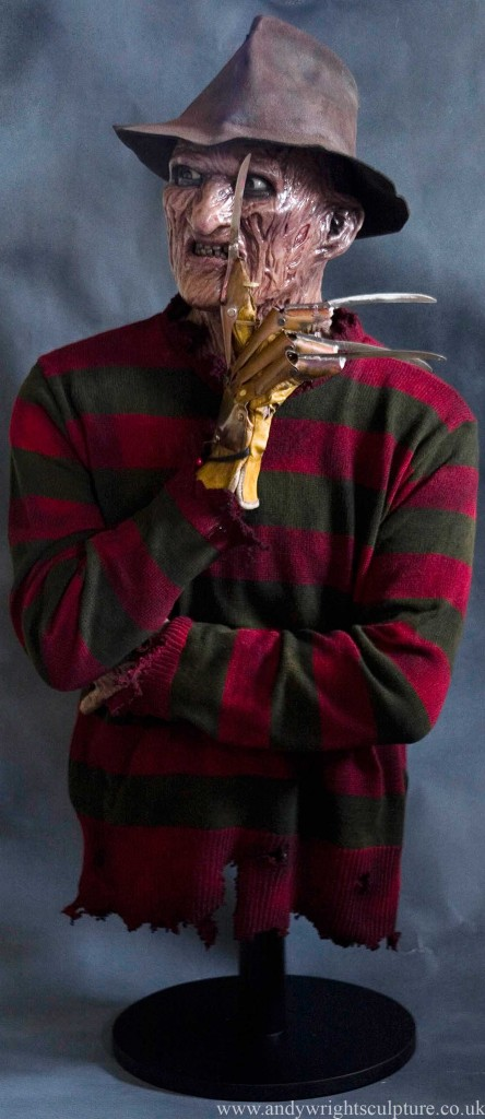 Freddy Krueger Nightmare on Elmstreet 1:1 life size replica statue