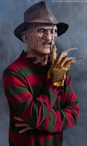 Freddy Krueger from Nightmare on Elm street life size 1:1 statue