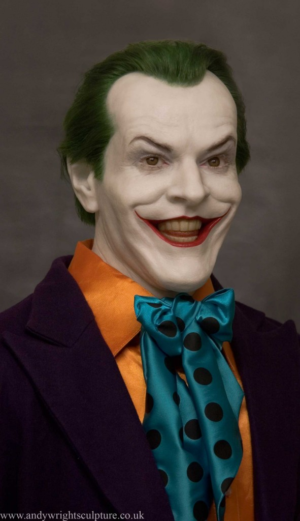 Joker Jack Nicholson from 1989 Batman  life size collectible  statue