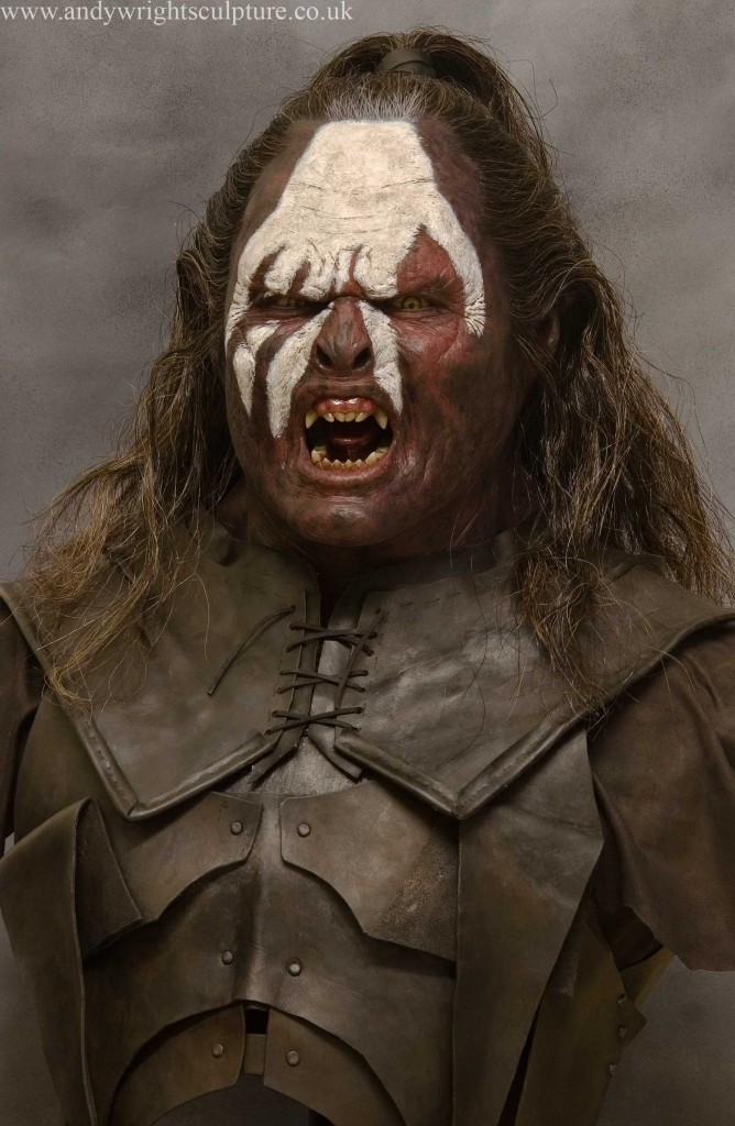 Lurtz from Lord of the Rings 1:1 collectible display bust statue prop