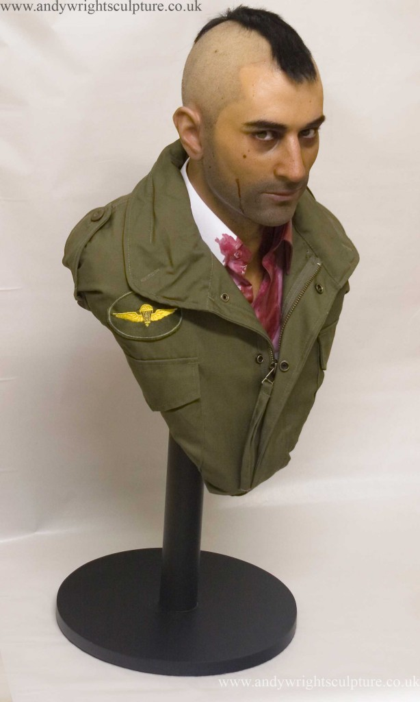Travis Bickle - Taxi Driver, 1:1 portrait colletible prop bust statue