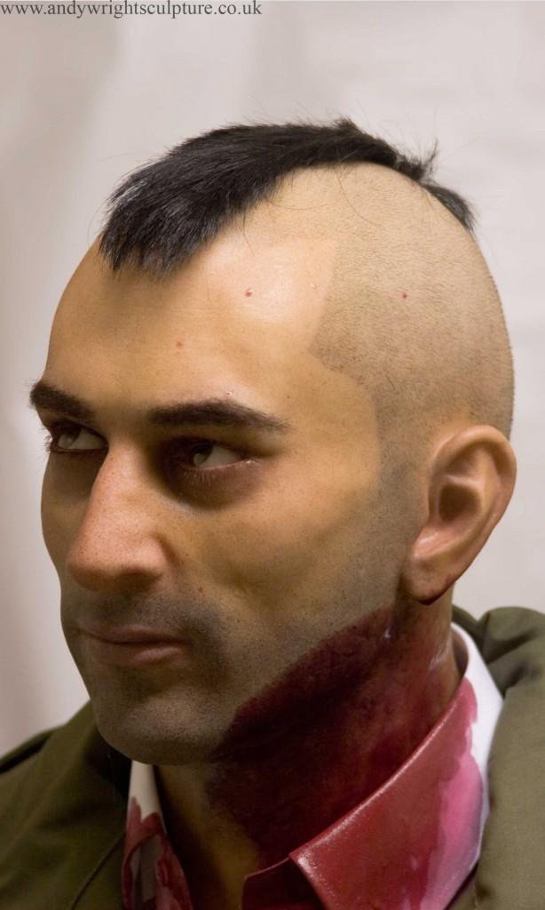 Robert DeNiro Taxi Driver 1:1 portrait bust collectible statue prop