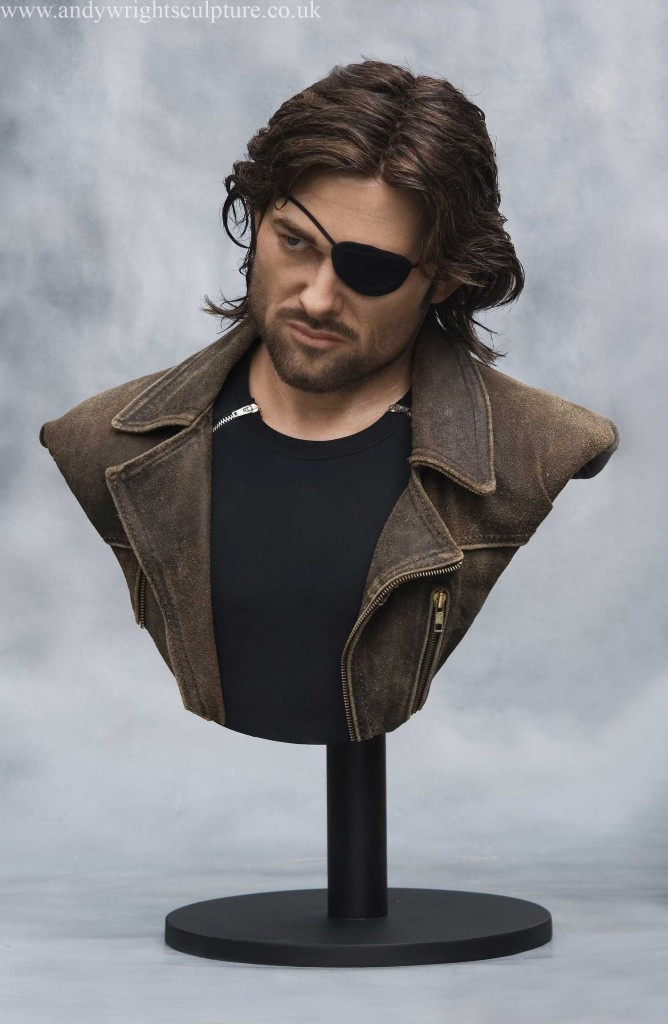 Escape from New York - Snake Plissken 1:1 silicone bust statue