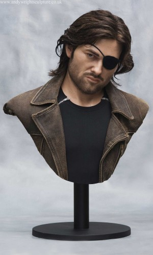 Snake Plissken Escape from New York life size silicone bust statue