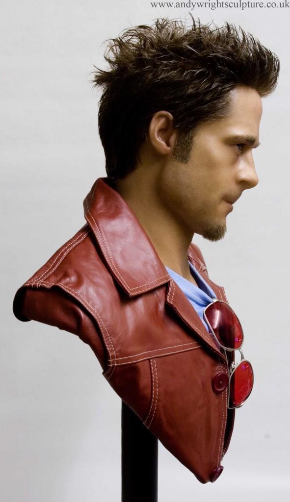 Tyler Durden - Fightclub 1:1 life size portrait bust collectible statue