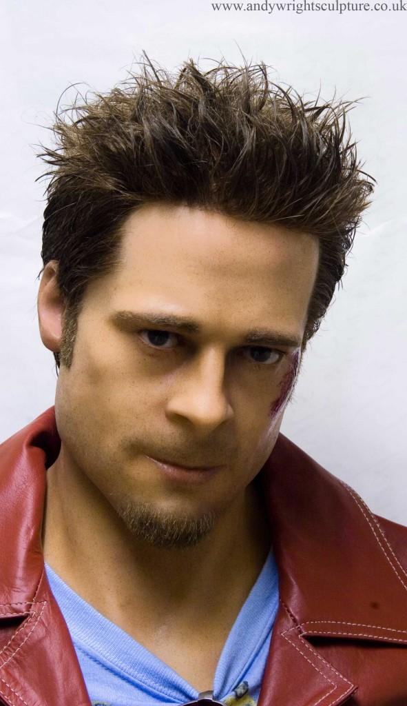 Tyler Durden from Fight Club - Brad Pitt 1:1 life size bust sculpture