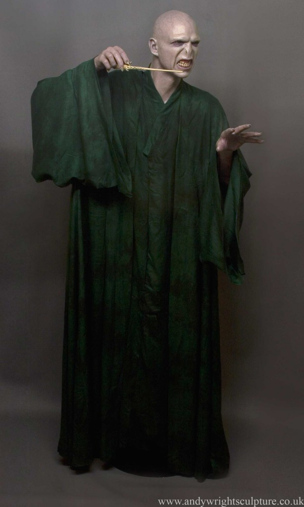 Voldemort  Harry Potter, 1:1 life size replica portrait statue bust