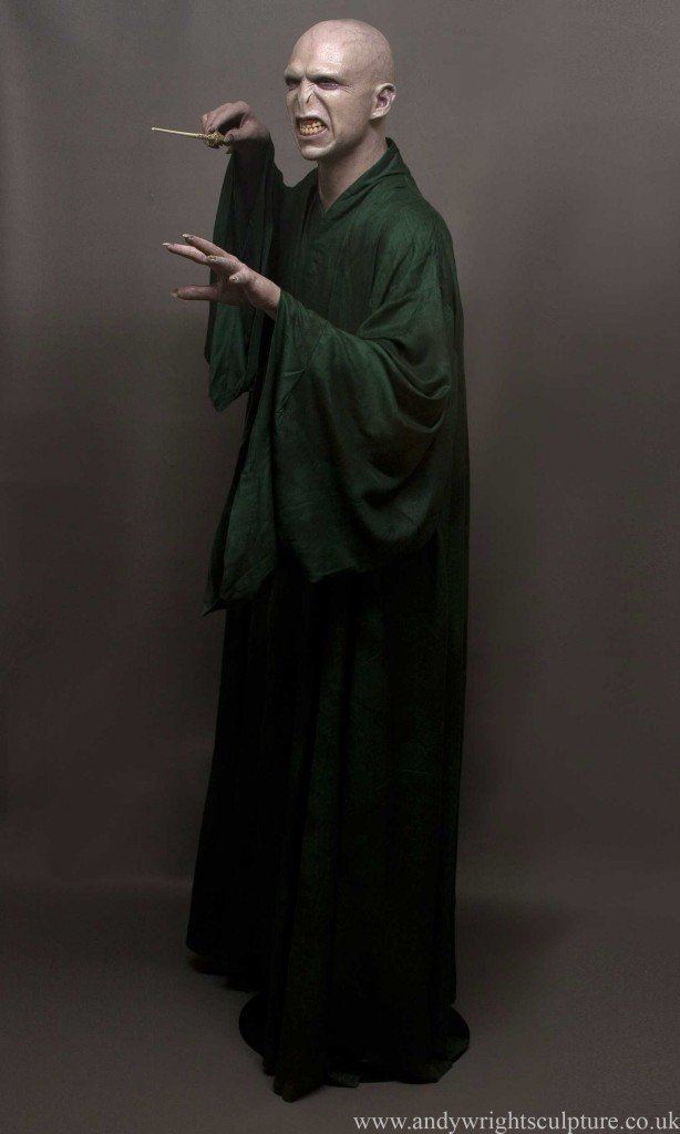 Voldemort 1:1 life size silicone bust statue prop from Harry Potter