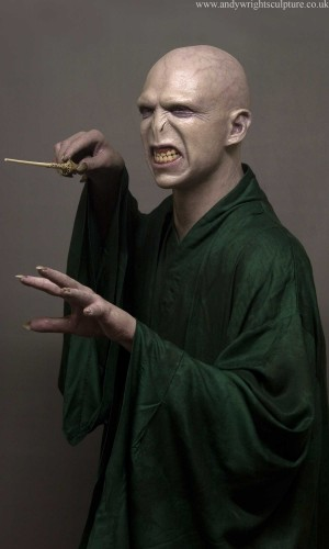 Voldemort from Harry Potter, life size realistic statue collectible