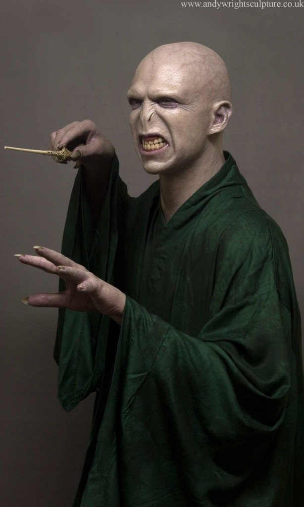 Voldemort from Harry Potter, Life size silicone statue collectible