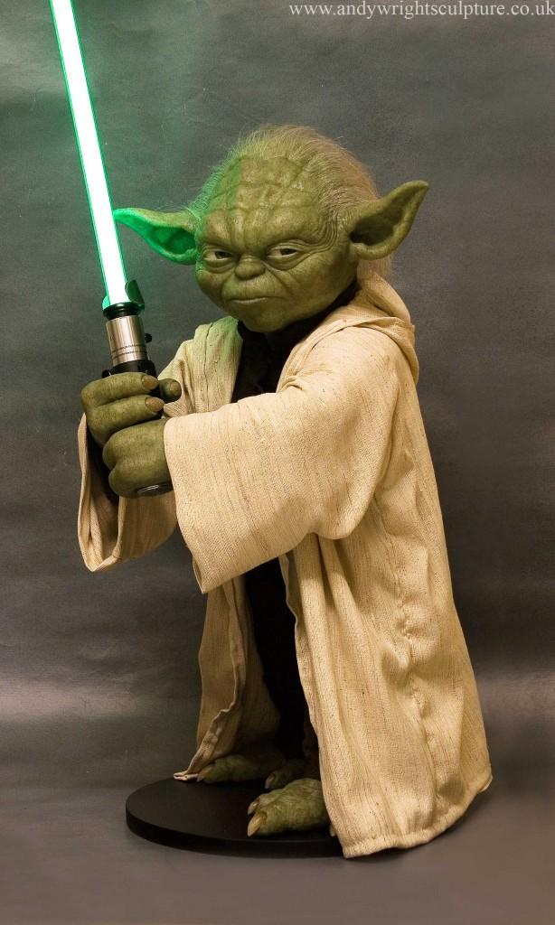 Yoda -Clones realistic 1:1 life size replica prop collectible statue