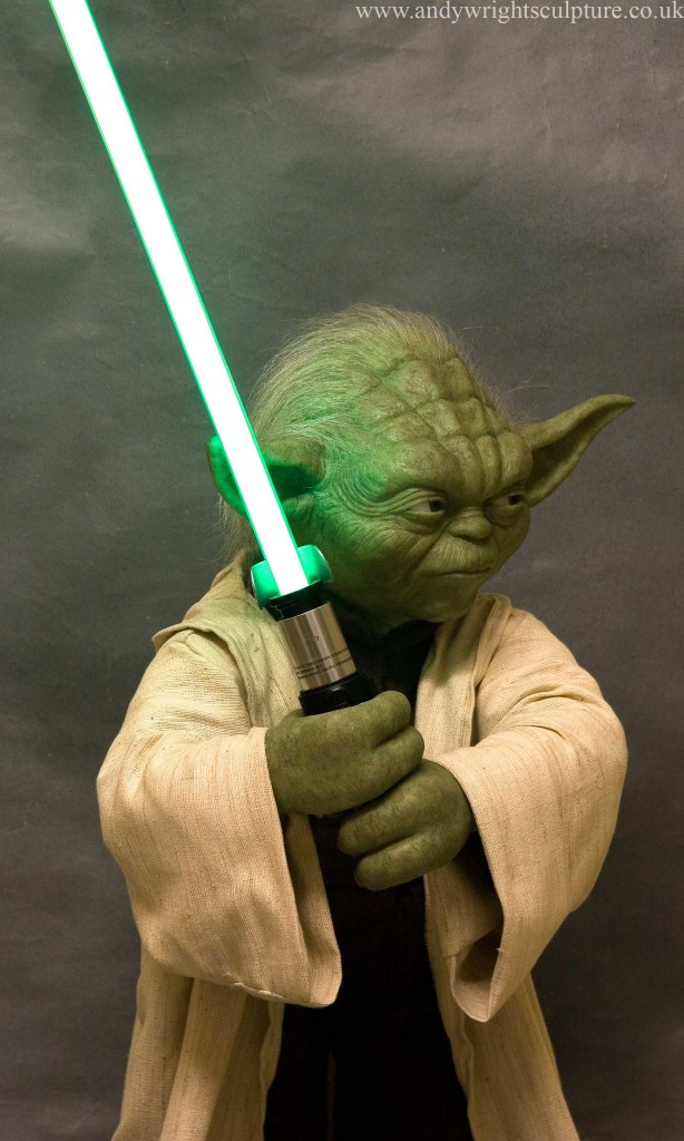 Yoda Attack of the Clones 1:1 life size replica prop collectible