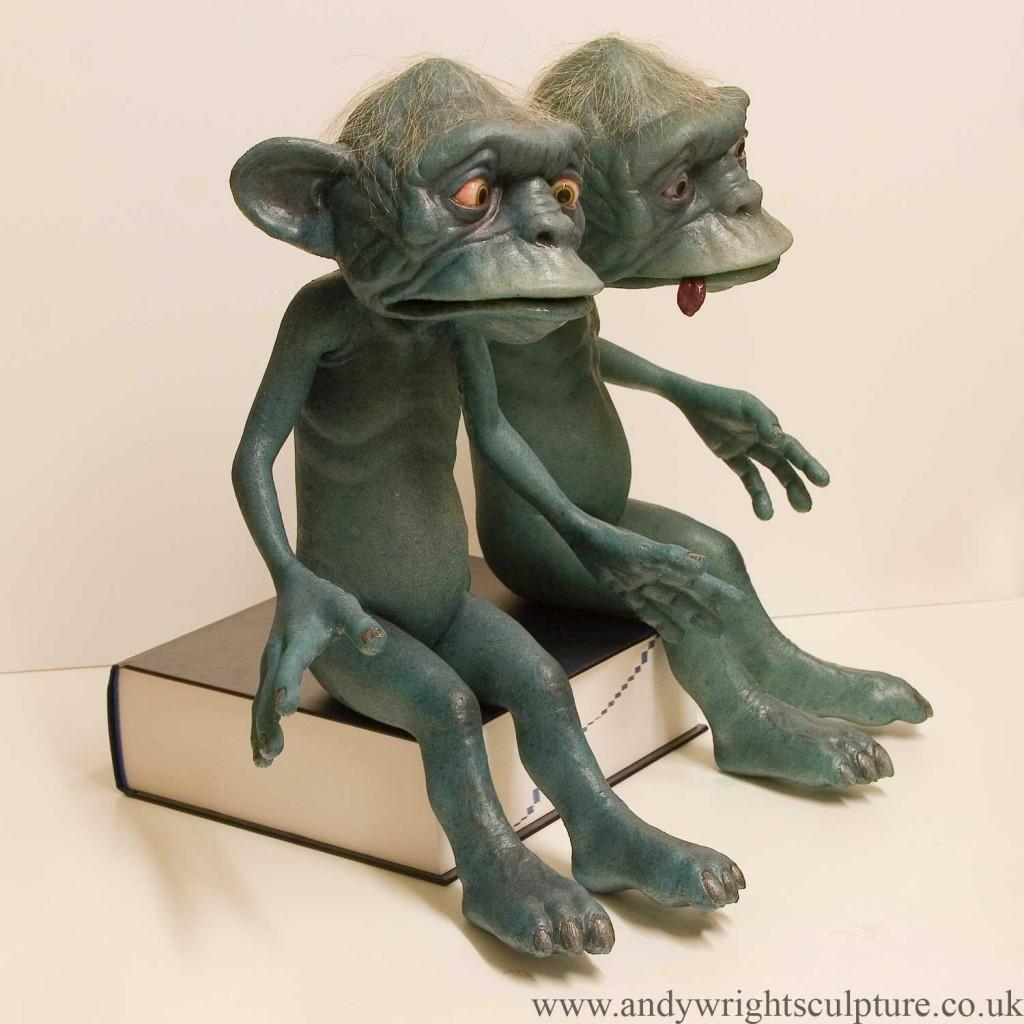 Sprites fantasy miniature silicone poseable puppet creatures