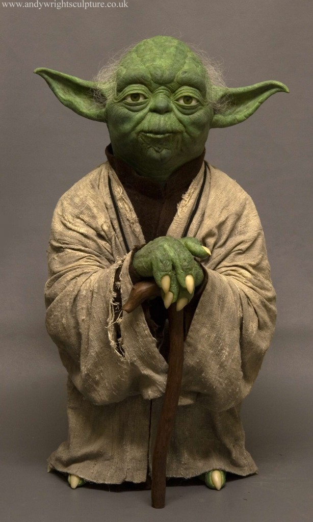 Yoda -The Empire Strikes Back 1:1 life size replica prop statue