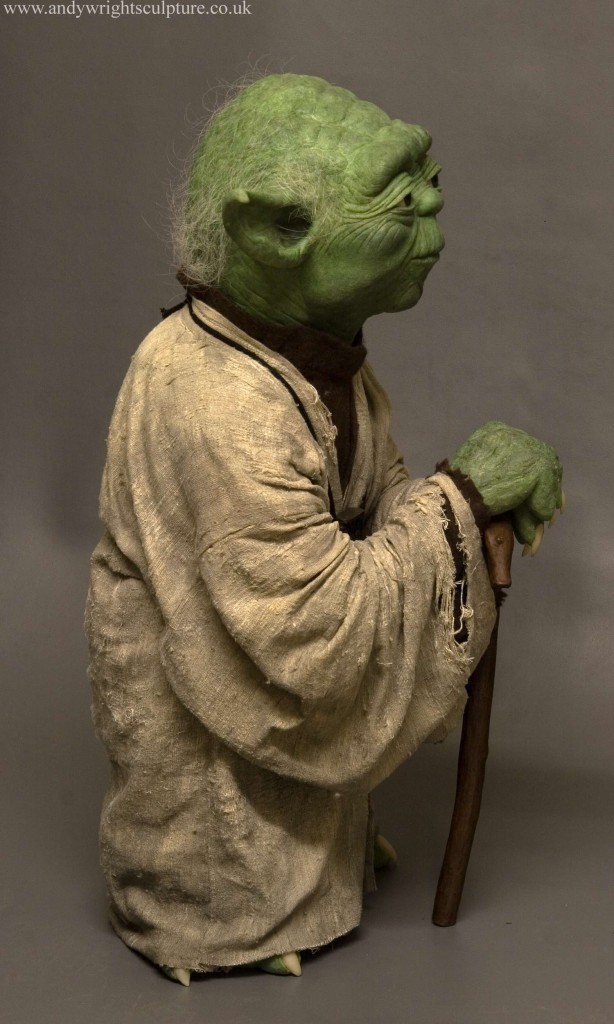 Yoda 1:1 life size replica statue prop collectible from Star Wars