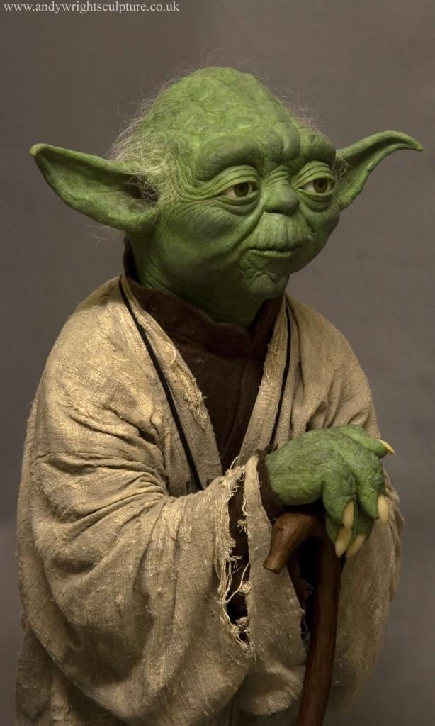 Yoda from Empire Strikes Back 1:1 life size replica prop statue