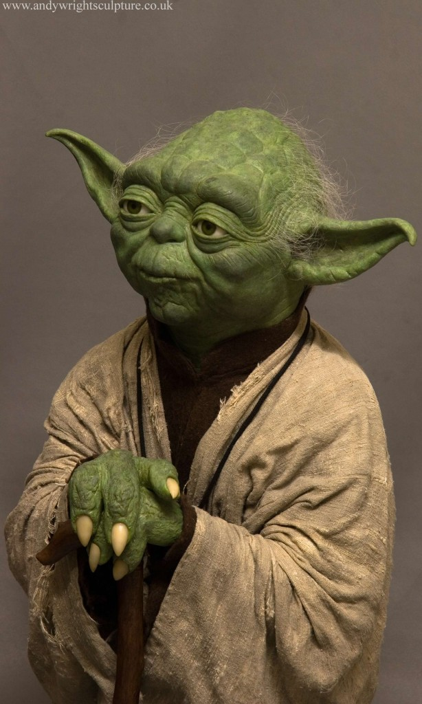 Yoda: Star Wars - The Empire Strikes Back 1:1 life size statue prop